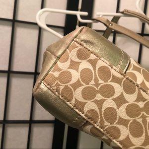 Coach Bags - Coach Purse Champagne Chelsea Heritage Handbag